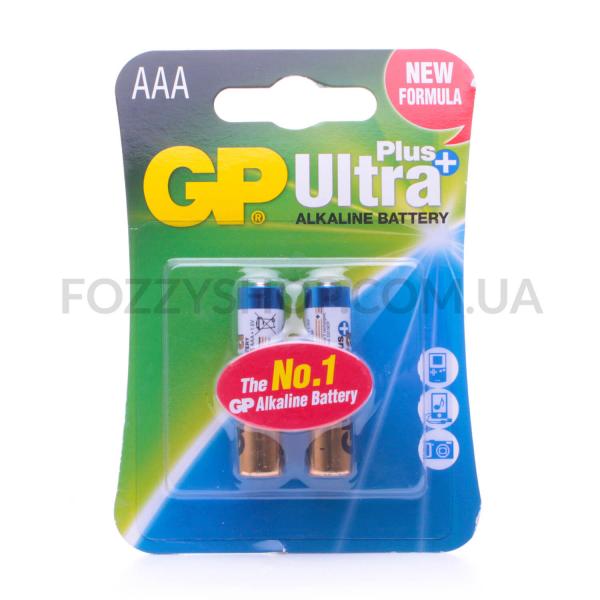 Батарейки GP Ultra + Alkaline AAA LR03