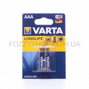 Батарейки Varta Longlife AAA LR03
