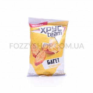 Сухарики ХРУСteam Багет вкус четыре сыра