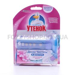 Диски чистоты Туалетный Утенок Цветочный вихрь