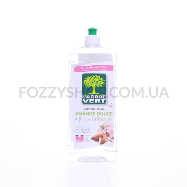 Жидкость д/посуды L`Arbre Vert Сладкий Миндаль - Цветы Абрикоса