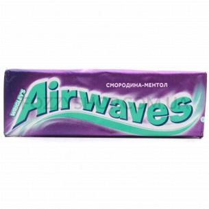 Резинка жевательная Airwaves смородина-ментол