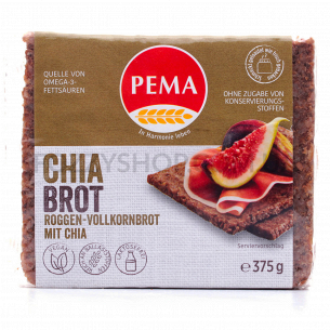 Хлеб Pema ржаной с семенами чиа