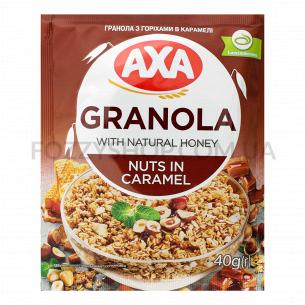 Гранола АХА с орехами в карамели