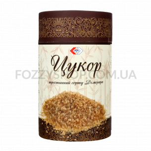 Сахар АТА тростниковый Демерара песок тубус