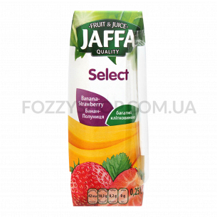 Нектар Jaffa Select банан-клубника