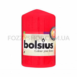 Свеча цилиндрическая красная 80/50мм