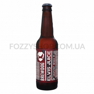 Пиво BrewDog Elvis Juice янтарное