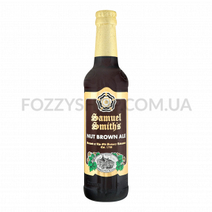 Пиво Samuel Smith Nut Brown Ale янтарное