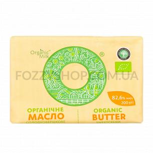 Масло сладкосливоч Organic Milk органич экстр82,6%
