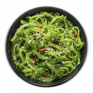 Салат из морских водорослей Хияши Вакаме дефрост