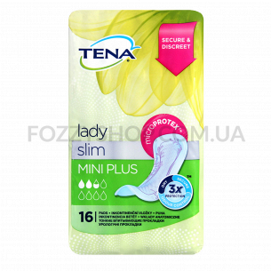 Прокладки урологич женские Tena Lady Slim MiniPlus