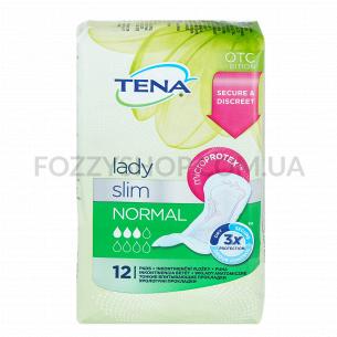 Прокладки урологич женские Tena Lady Slim Normal