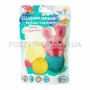 Н-р д/лепки Genio Kids Шариков пластилин6цв TA1800