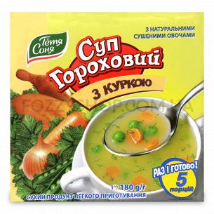 Суп Тетя Соня гороховый с курицей