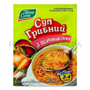 Суп Тетя Соня грибной с вермишелью