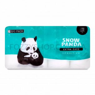 Бумага туалетная Сніжна панда Extra Care Sensitive