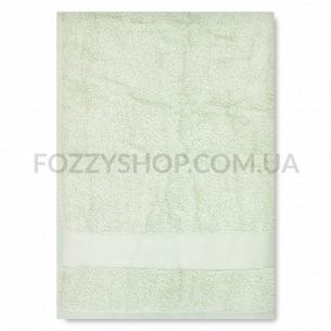 Полотенце махровое Saffran бордюр фисташковый 70х140