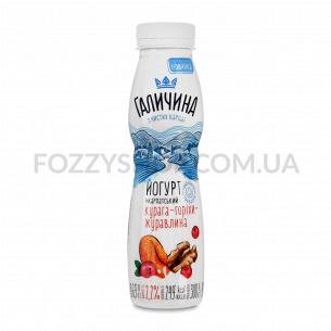 Йогурт Галичин курага, орех, клюква 2,2%