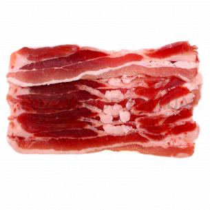 Свиной бекон нарезной