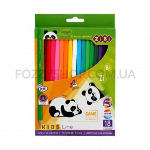 Олівці кольорові ZiBi