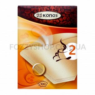 Фільтри для кави Konos №2