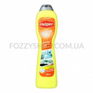Крем для чистки Helper Лимон