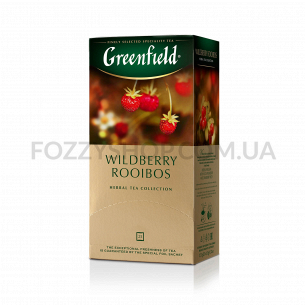 Чай Greenfield Wildberry Rooibus