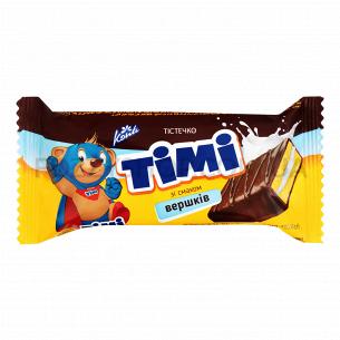 Пирожное Konti Тими со вкусом сливок
