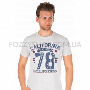 Футболка SOL`S REGENT 150 California_78 р-р S, светло-меланжевый