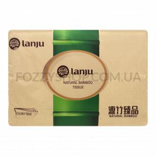 Салфетки Lanju бамбук бумажные