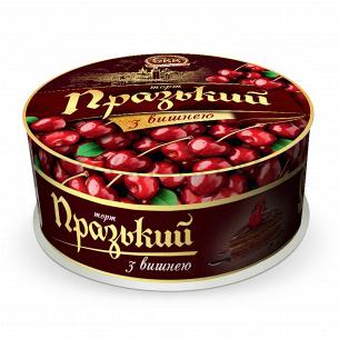 Торт БКК Пражский с вишней