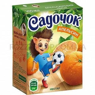 Нектар Садочок апельсин т/п