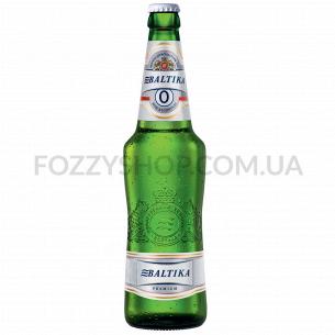Пиво Балтика №0 безалкогольное