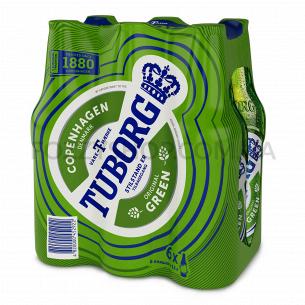 Пиво Tuborg Green светлое...