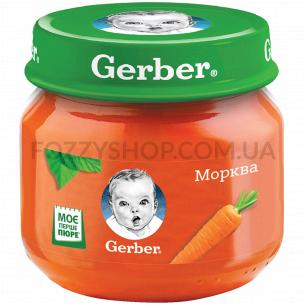 Пюре Гербер овощное Морковь...