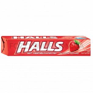 Леденцы Halls клубника