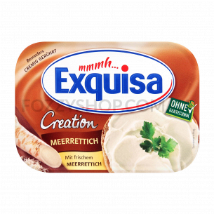Сыр мягкий Exquisa с хреном 21%
