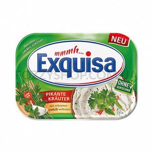 Сыр мягкий Exquisa с пикантными травами 12%