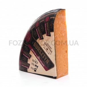 Сыр Skarby Serowara Bursztyn 45%, 24 месяца, с коровьего молока