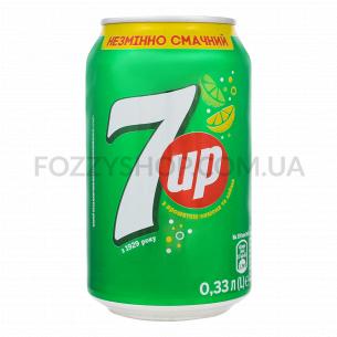 Напиток 7UP безалкогольный, сильногазированный, ж/б