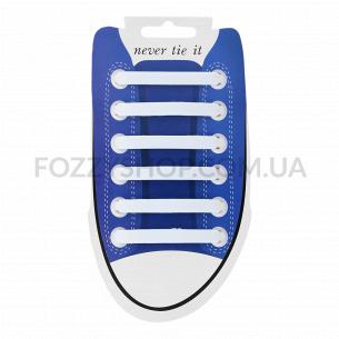 Набір: Шнурки для взуття силікон 6шт в асортименті