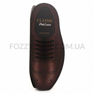 Шнурки AntiLaces Classic силіконові чорні 40мм