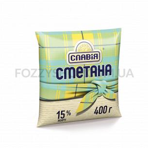 Сметана Славія 15% п/э