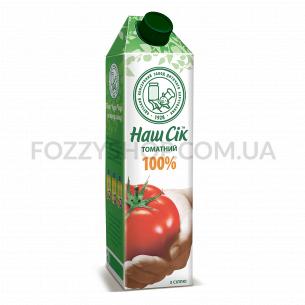 Сок Наш Сік томатный с мякотью