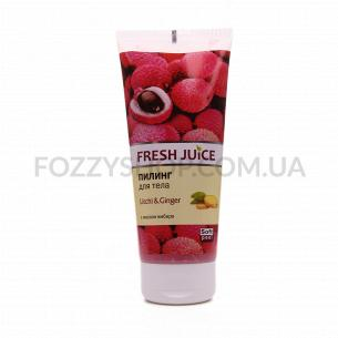 Пилинг для тела Fresh Juice Litchi&Ginger