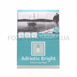 Бумага офисная Adriatic Bright A4 80г/м2 500лис
