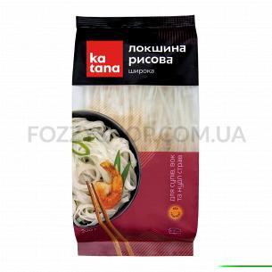 Лапша рисовая широкая ТМ Katana