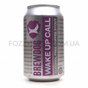 Пиво BrewDog WakeUp Call темное безалкогольное ж/б