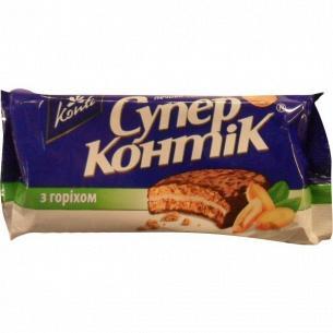 Печенье Супер-Контик с орехом в глазури